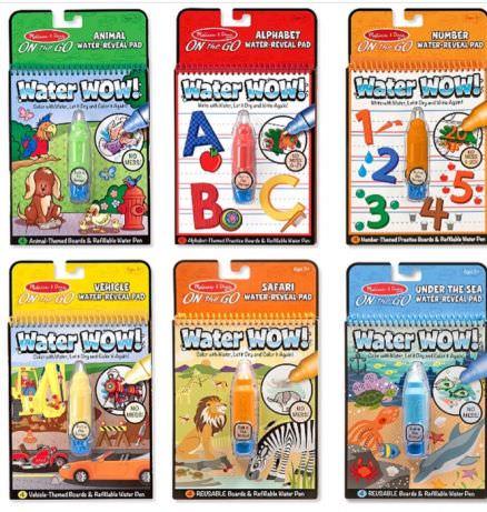Волшебная водная раскраска «Сафари» — ToysTime
